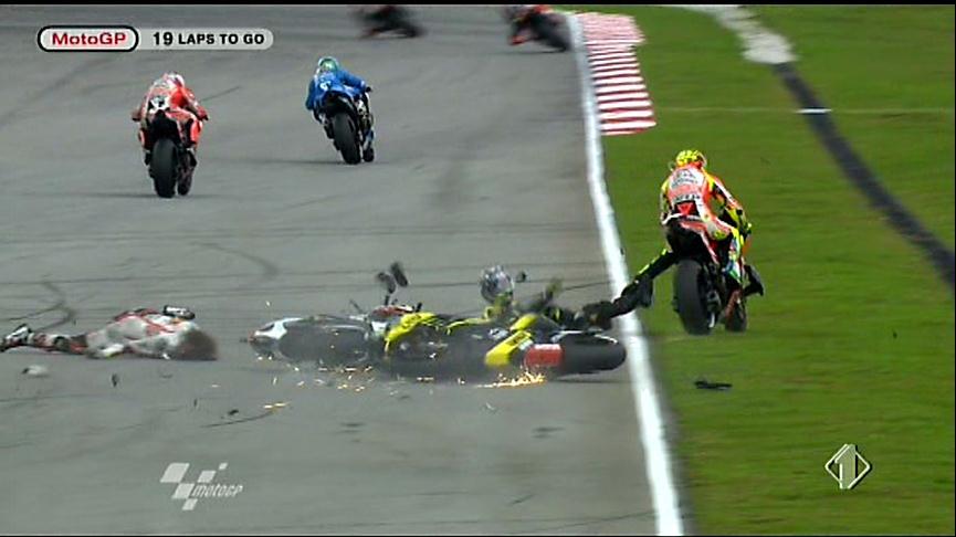 Incidente Marco Simoncelli Malesia
