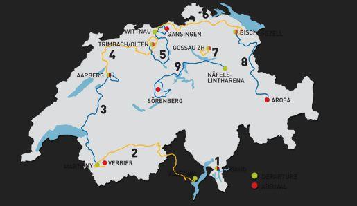 giro svizzera