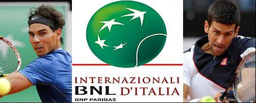 Nadal vs Djokovic internazionali Roma
