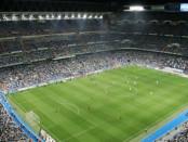 stadio Santiago Bernabeu di Madrid - stadio Real Madrid banner