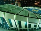 Shanghai stadium di Shanghai - stadio Shangai Shenhua banner