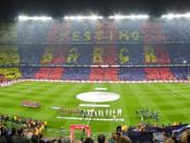 stadio Camp Nou di Barcellona banner
