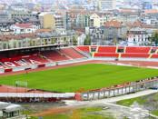 stadio Karadjordje di Novi Sad - stadio Vojvodina banner