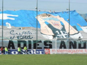 stadio Marcello Torre di Pagani --stadio Paganese banner