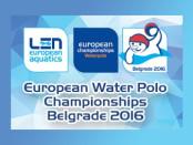 logo Campionati Europei Pallanuoto Belgrado 2016 banner