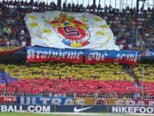 stadio Letna di Praga - stadio Sparta Praga banner