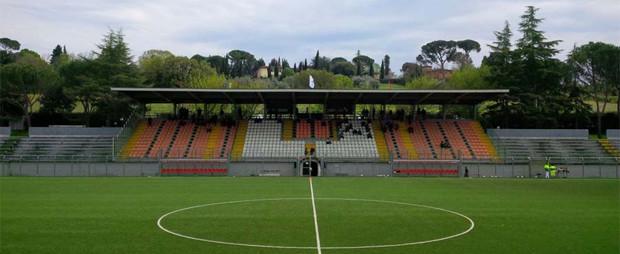 stadio delle Due Strade-Gino Bozzi di Firenze - stadio Rondinella Marzocco banner