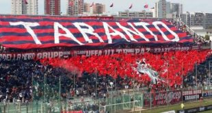 Dove vedere il Taranto in tv streaming: diretta Gladiator-Taranto