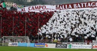 Lega Pro: DIRETTA Arezzo-Pistoiese ore 20.45