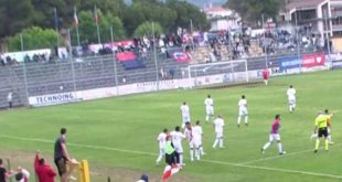 DIRETTA serie D Gavorrano-Montecatini 1-0 | Decisiva la rete di Brega
