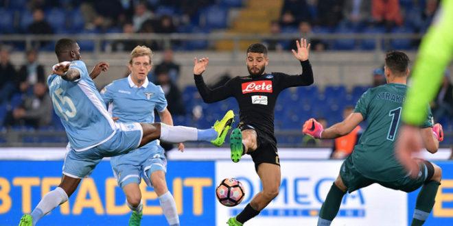 DIRETTA Lazio-Napoli: Mertens parte dalla panchina