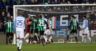 DIRETTA Sassuolo-Inter: Asamoah verso il debutto