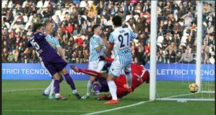 DIRETTA Fiorentina-Spal 3-0: i viola fermano la corsa dei ferraresi