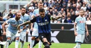 DIRETTA Spal-Inter 1-2: doppietta di Maurito