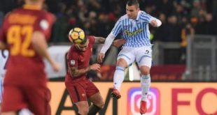DIRETTA Roma-Spal 0-2: gli ospiti vincono in 10
