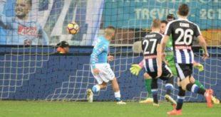 DIRETTA Udinese-Napoli 0-3: recuperati due punti alla Juve