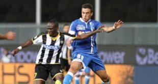 DIRETTA Empoli-Udinese 2-1: Iachini vince alla prima